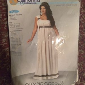 California Costumes Olympic Goddess Size 1X 16/18